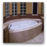 Albuquerque Custom Homes Bathtubs