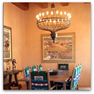 Albuquerque Custom Homes Dining Areas