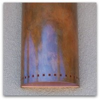 Albuquerque Custom Homes Exterior Lighting