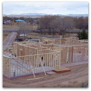 Albuquerque Custom Homes Framing