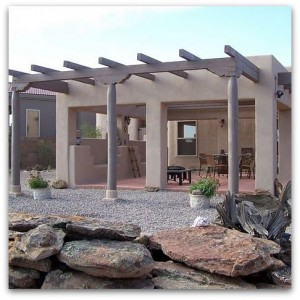 Albuquerque Custom Homes Outdoor Living Areas
