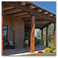 Albuquerque Custom Homes Patios and Portals