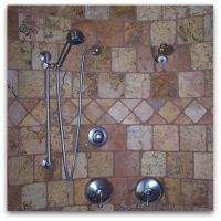 Albuquerque Custom Homes Showers and Wall Tile