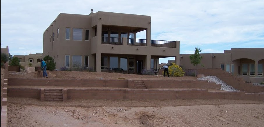 Backyard Terracing