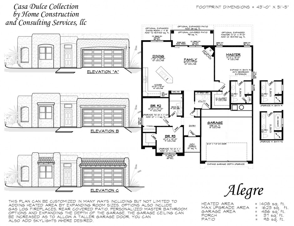 Alegre Floor Plan