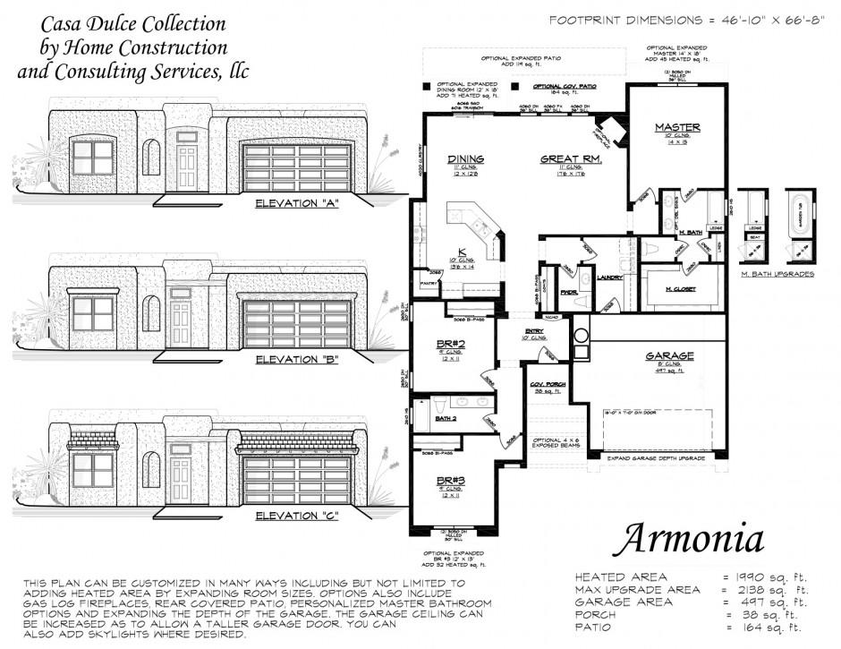 Armonia floor plan