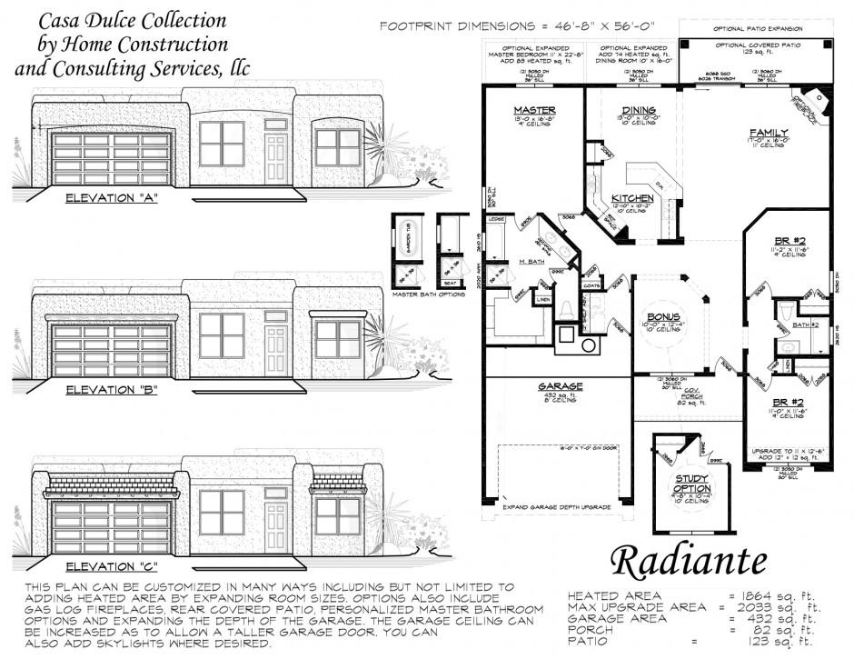 Radiante floor plan